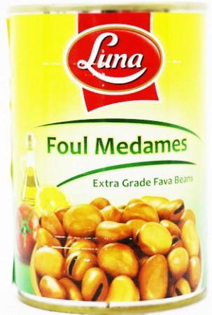 Luna Foul Medames American Beans 400 Gm