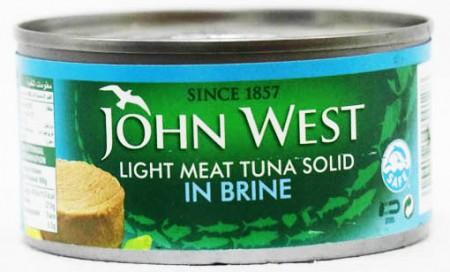 John West Light Meat Tuna Solid In Brine 170 Gm