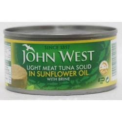 John West Light Meat Tuna Solid In Oil 170 Gm