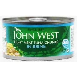 John West Light Meat Tuna Chunks In Brine 170 Gm