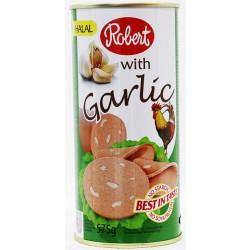 Robert Chicken Luncheon Meat with Garlic 575 Gm