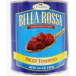 Bella Rossa Diced Tomatoes In Juice 2.89 Kg