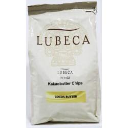 Lubeca Kakao Butter Chip 8 Kg