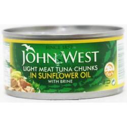 John West Light Meat Tuna Chunks In Oil 170 Gm